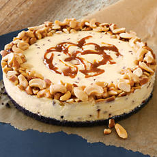 NEW Chocolate Caramel Nut Cheesecake
