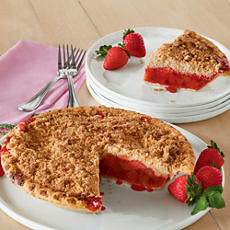 NEW Strawberry Rhubarb Pie
